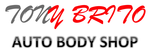 Logo Tony Brito Auto Body Shop